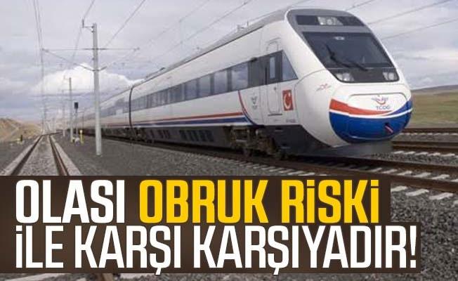 Yüksek Hızlı Tren Uyarısı: Olası Obruk Riskleri Var