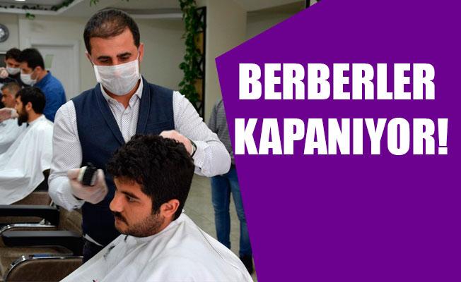 BERBERLER KAPANIYOR!