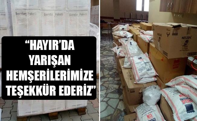 """""""HAYIR'DA YARIŞAN HEMŞERİLERİMİZE TEŞEKKÜR EDERİZ"""""""