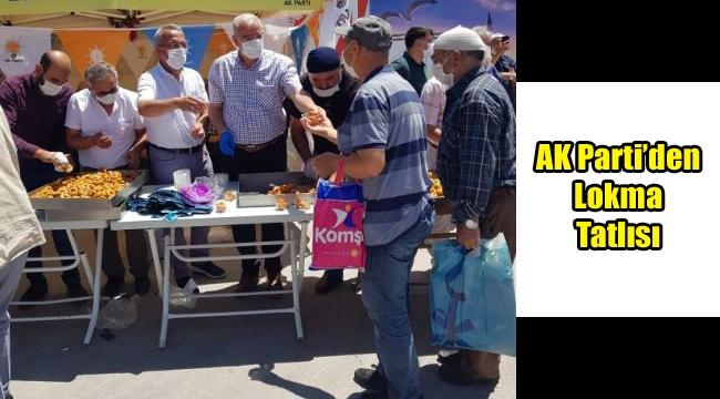 AK Parti'den Lokma Tatlısı