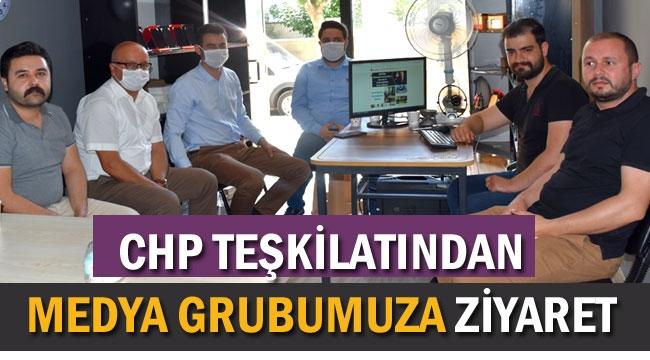 CHP TEŞKİLATINDAN MEDYA GRUBUMUZA ZİYARET
