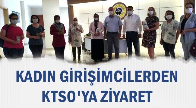 GÖKTEPE'Lİ KADIN GİRİŞİMCİLERDEN KTSO'YA ZİYARET