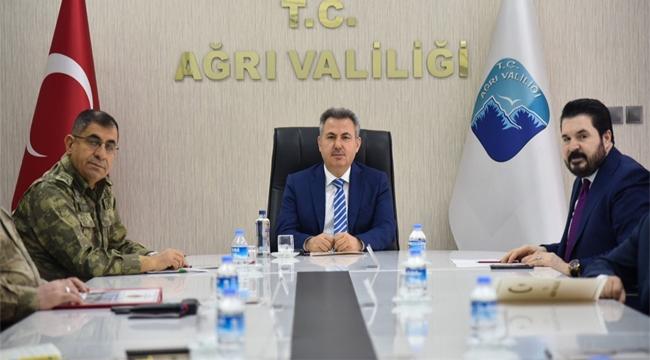 İl Pandemi Koordinasyon Kurulu Toplantısı, Vali Elban Başkanlığında Gerçekleştirildi