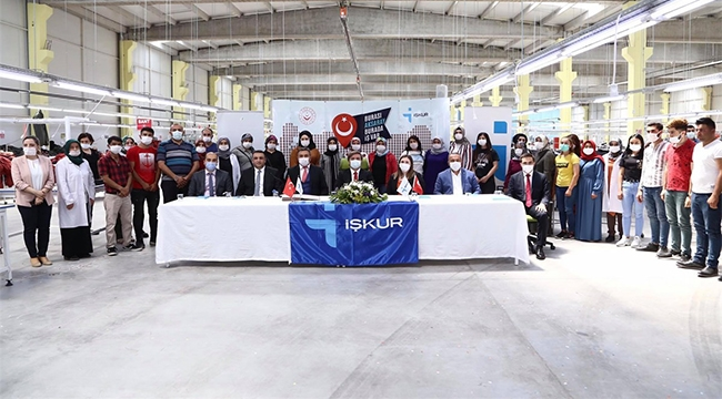 OSB'de 150 kişilik daha istihdam sağlandı