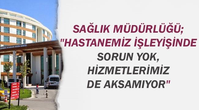 """""""SERVİS KAPATMA"""" İFADESİ GERÇEĞİ YANSITMIYOR"""