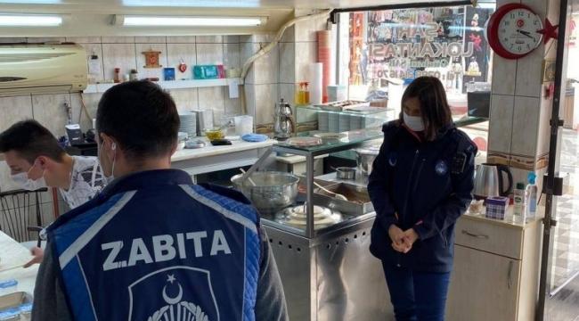 Zabıta Müdürlüğü ekiplerimiz, faaliyetine başlayan işletmelerde koronavirüs tedbirleri kapsamında yapılan hazırlıkları inceledi.