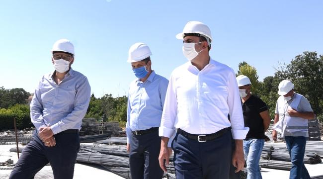 Başkan Altay Meram Yeraltı Katlı Otoparkı İnşaatını İnceledi