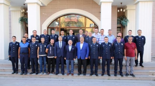 Başkan Esen Zabıta Haftası'nı Kutladı