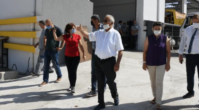 Başkan Gökhan Teknik Hizmetler Kampüsünde İncelemelerde Bulundu