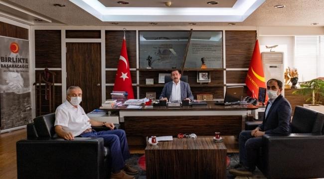 """Başkan Vidinlioğlu """"Çalışmalarımız Tüm Hızıyla Sürüyor"""""""