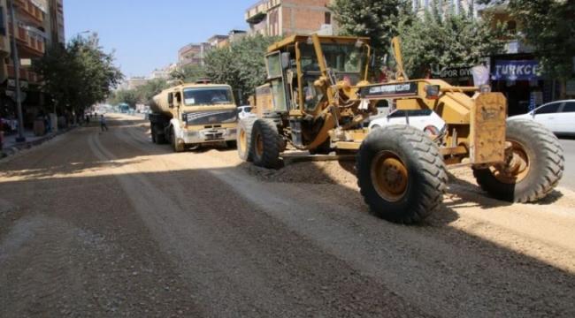 Büyükşehir'den Yol Genişletme Ve Asfaltlama Çalışması