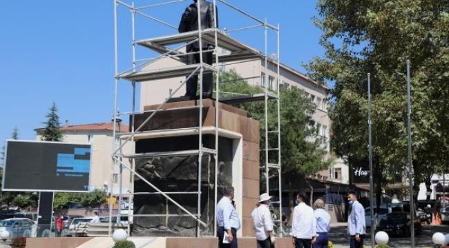 Çankırı'da Atatürk Anıtı Restore Ediliyor