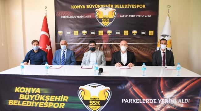 Konya Büyükşehir Belediyespor'dan Örnek Alt Yapı Projesi