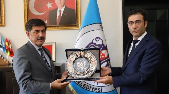 Kudaka Genel Sekreteri Güven'den Başkan Aksun'a Ziyaret