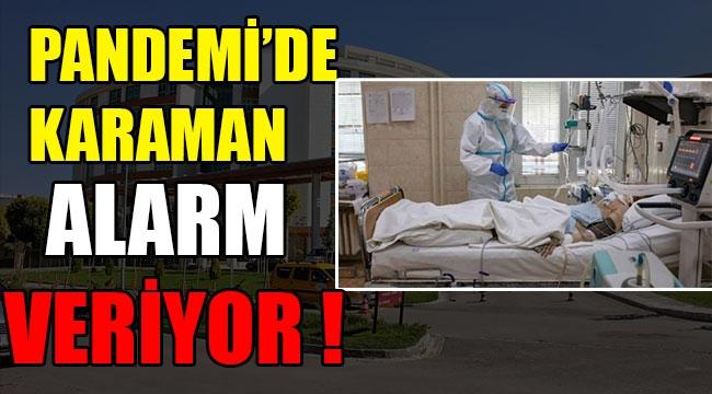 PANDEMİ'DE KARAMAN ALARM VERİYOR !