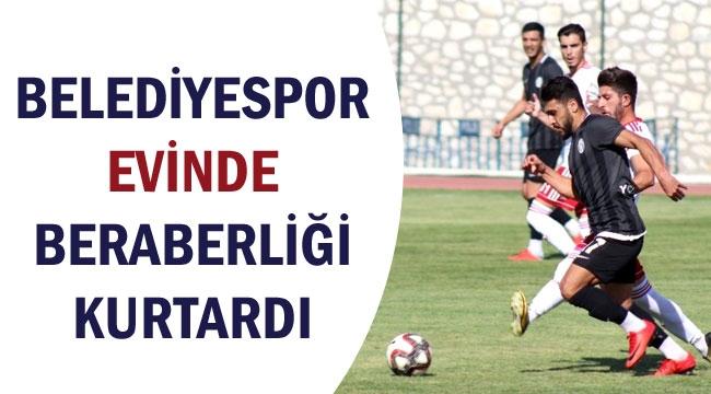 BELEDİYESPOR MARDİN FOSFATSPOR'U KONUK ETTİ