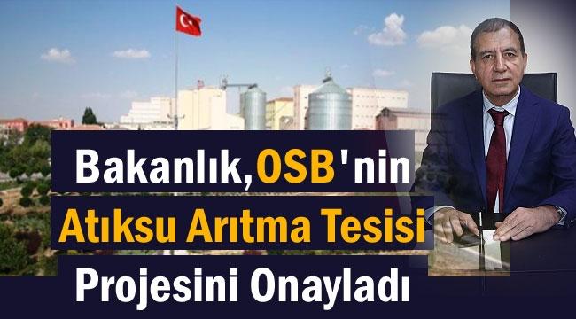 OSB'nin Atıksu Arıtma Tesisi Projesi Onaylandı