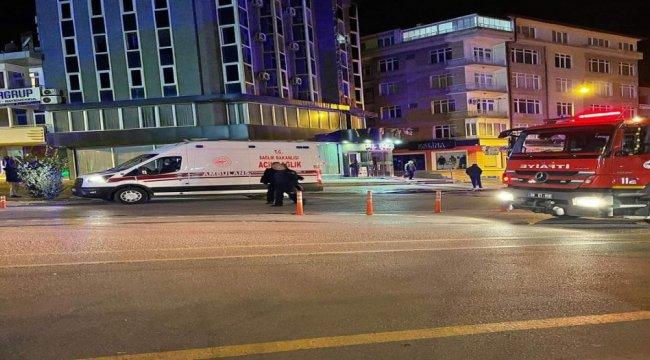 Aksaray'da bir otelde çıkan yangın korkuttu