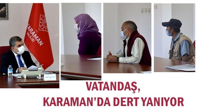 VATANDAŞ, HALK GÜNÜNDE DERT YANIYOR