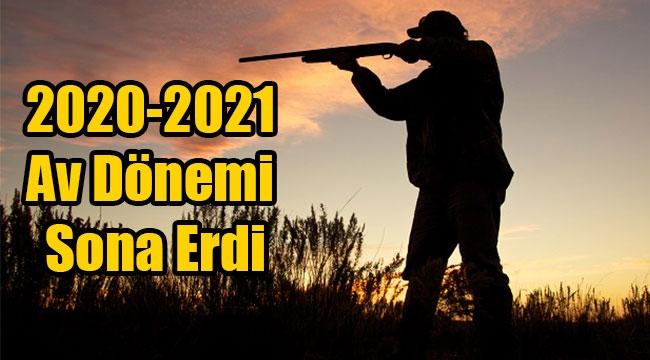 2020-2021 Av Dönemi Sona Erdi
