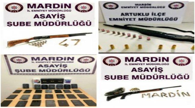 Mardin'de aranan 185 kişiye gözaltı