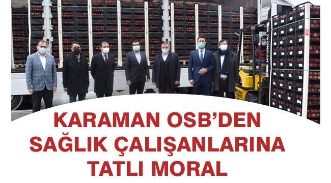 OSB'DEN SAĞLIK ÇALIŞANLARINA DESTEK ARTIYOR