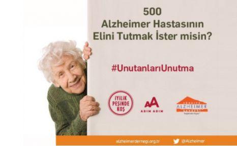 38. İstanbul Maratonu ile 500 Alzheimer Hastasının Elini Tutabilirsin