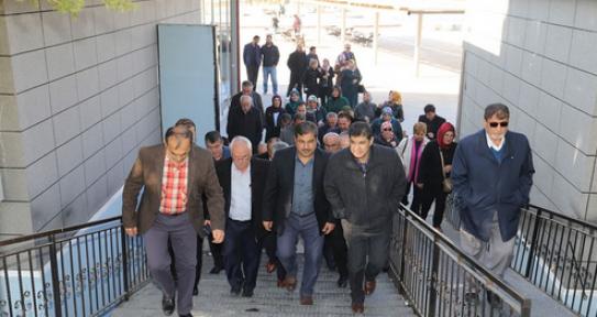 AK Parti Karaman İl Teşkilatı Yatırımları Gördü
