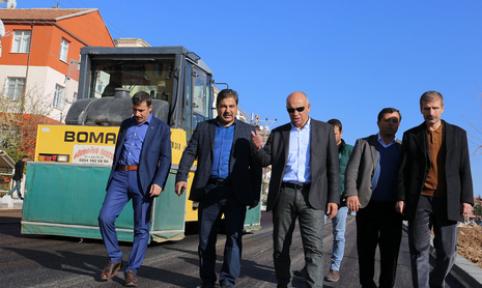 Alparslan Türkeş Bulvarı'nda çalışmalar hızla devam ediyor