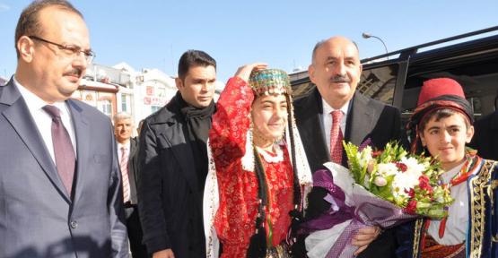Bakan Mehmet MÜEZZİNOĞLU  Vali CANBOLAT'ı Ziyaret Etti