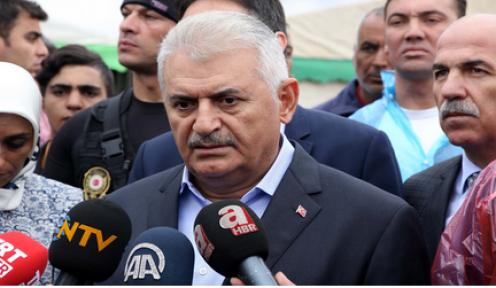 Başbakan Yıldırım, Ağrı'da gazetecilerin sorularını yanıtladı