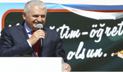 Başbakan Yıldırım, yeni eğitim-öğretim yılı açılış törenine katıldı