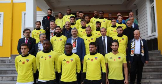 Başkan Mustafa Çelik'ten, Kayserispor'a tam destek