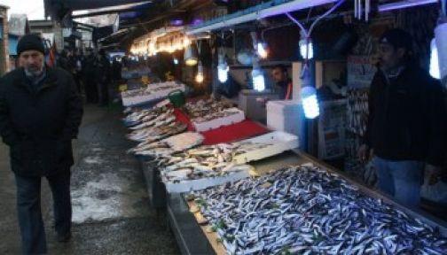 Başkent'te en çok tüketilen balık hamsi