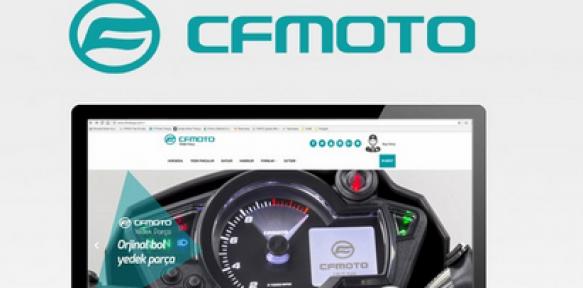 CF MOTO yedek parça web sitesi açıldı