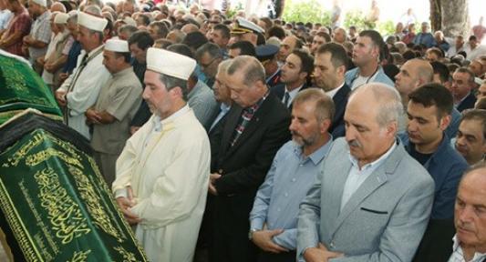 Cumhurbaşkanı Erdoğan, Zümriye İlgen'in Cenazesine Katıldı