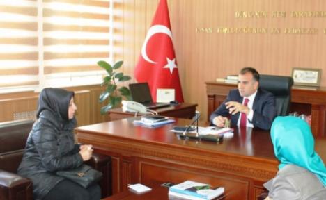 Hamza Anaç İlkokulu Okul Aile Birliği Sultanoğlu'nu Ziyaret Etti