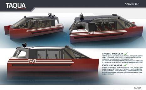 İhracatçı Birlikleri Tasarım Yarışmaları Özel Ödülü'nü TAQUA Deniz Taksi Aldı!
