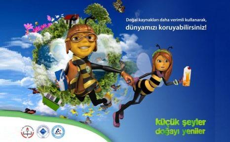 İstanbul Ve İzmir'de 50 Bin Çocuk Geri Dönüşüm Eğitimi Alacak