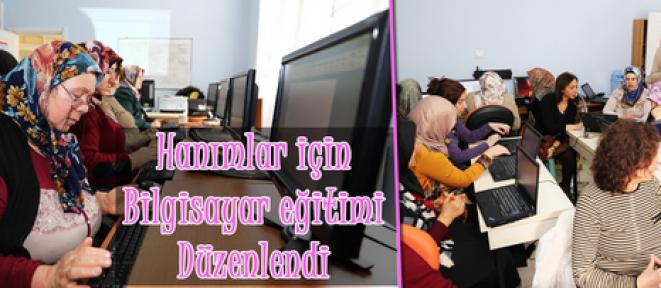 Kadın için Teknoloji eğitimi Karaman'da