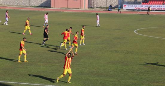Karaman Belediye Spor, sahadan galibiyetle ayrıldı