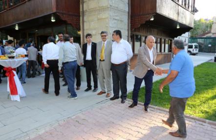 Karaman Belediyesi  bayramlaşma programı düzenledi
