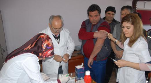 Karaman Belediyesi, Sağlık Polikliniğinde binlerce kişiye hizmet verdi