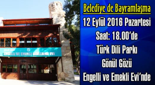 Karaman Belediyesinde bayramlaşma ilk gün olacak