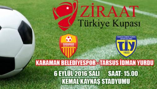 Karaman Belediyespor, Tarsus İdmanyurdu ile karşılaşacak