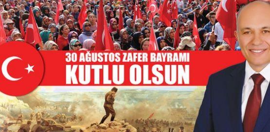 Karaman' da Başkan Çalışkan' ın Zafer Bayramı Mesajı
