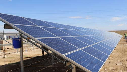 Karaman' da Güneş Enerjisi Santrali tamamlanıyor