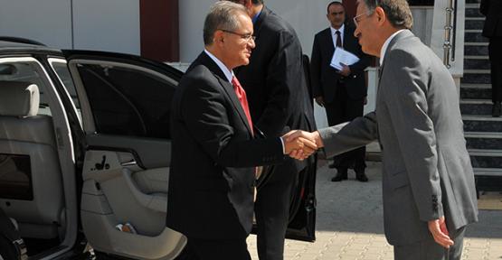 Karaman' da  Kmü, Güvenlik Koordinasyon toplantısı yapıldı