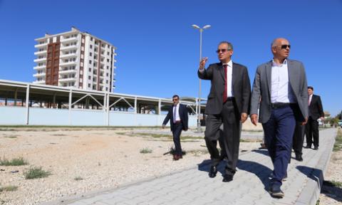 Karaman' da yatırımlar sıkı takip altında