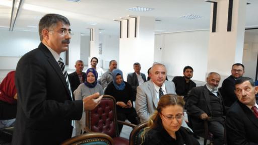 Karaman' da Yeni Yönetim İlk Kent Konseyi Toplantısını yaptı